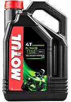 Motul 5100 4T SAE 10W40 моторное масло для мототехники, 4 л (836541)