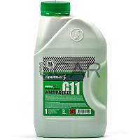 Sputnik Antifreeze G11 Green (-30°C) зеленый антифриз, 1 л (700998)