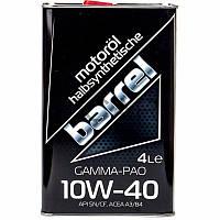 Barrel Gamma-Pao 10W-40 полусинтетическое моторное масло, 4 л