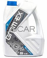 Grom-Ex Antifreeze Blue G11 (-42C) антифриз синий, 5 кг