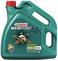 Castrol Magnatec 10W-40 A3/B4 полусинт. моторное масло, 4 л