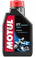 Motul 100 2T моторное масло для 2-х тактных двигателей, 1 л