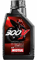 Motul 300V 4T Factory Line Road Racing SAE 5W30 эстеровое моторное масло, 1 л