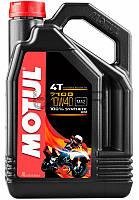 Motul 7100 4T SAE 10W40 моторное масло для мототехники, 4 л