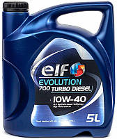 ELF Evolution 700 Turbo Diesel 10W-40 дизельное моторное масло, 5 л