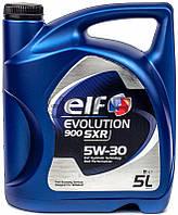 ELF Evolution 900 SXR 5W-30 синтетическое моторное масло, 5 л