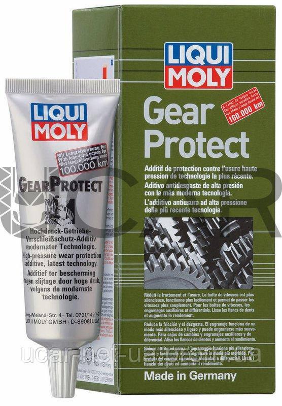 Liqui Moly 1007 Gearprotect средство для долговременной защиты трансмиссий, 80 мл - UCAR.NET.UA в Днепре