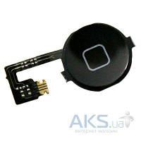 Шлейф для Apple iPhone 4 / 4G с кнопкой Home (Original) Black