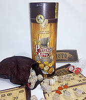 Игра - Русское лото в тубусе, деревянные бочонки