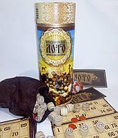 Игра - Козацкое лото в тубусе , деревянные бочонки