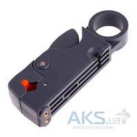 Pro'sKit 6PK-332, RG-58/59/62/6/3C2V/4C/5C стриппер для коаксиального кабеля