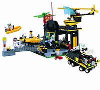 Конструктор Brick-111 Центр спасения МЧС 528 деталей