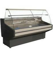 Витрина холодильная гнутое стекло UBC Nika 1.0