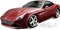 Автомодель Bburago Ferrari California T (18-26002) бордо
