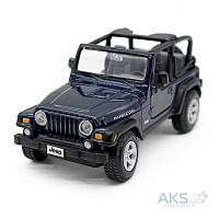 Автомодель Maisto (1:24) Jeep Wrangler Rubicon (31245) Синий