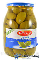 Оливки с косточкой IPOSEA Bella di Cerignola 950/630г