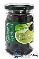 Маслины LE OLIVE Olive Nere 125г