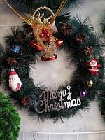 Рождественский венок: осваиваем красивые западные традиции
