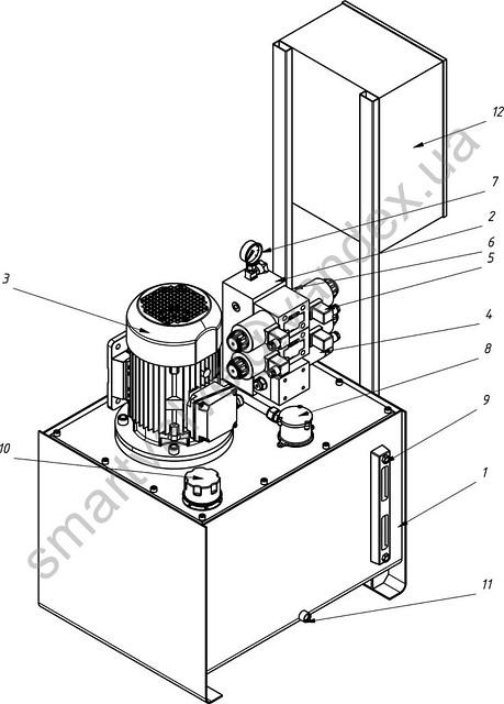 Компоновка и устройство маслостанции. Основные компоненты маслостанции.