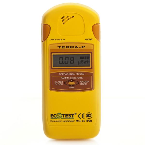Дозиметр-радиометр бытовой МКС-05 ТЕРРА-П -  Средства реабилитации. Специализированный магазин медицинского оборудования в Киеве
