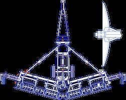 Лущильник дисковый гидрофицированный ЛДГ-5