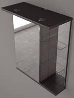 Зеркальный шкаф Fancy Marble ШЗ-8В 58 см (Венге)