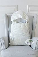 Конверт трансформер в одеяло для новорожденного Flavien 1020 молочный