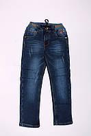 Утепленные джинсы для мальчиков оптом (8-13 лет), фото 1