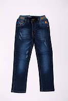 Утепленные джинсы для мальчиков оптом (7-12 лет), фото 1