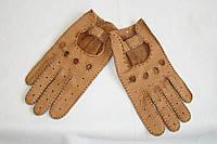 Перчатки женские кожаные, для водителей