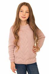 Детский джемпер ДЖИНА на девочку подростка, р.128-152