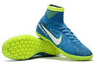 Футбольные сороконожки Nike MercurialX Proximo II DF Neymar TF Blue Orbit/White/Armory Navy, фото 1