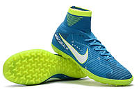 Футбольные сороконожки Nike MercurialX Proximo II DF Neymar TF Blue Orbit/White/Armory Navy, фото 1