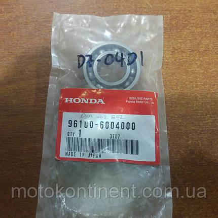 96100-6004000 Подшипник редуктора Honda BF5 20x42x12, фото 2
