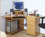 Стол компьютерный СКК - 1 № 4 (Континент) 1000х1350х760мм, фото 3