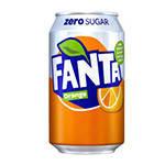 Coca-ColaЗаменители питанияFanta zero sugar330 ml