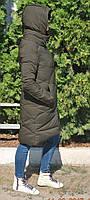 Теплые, красивые и качественные пуховики из тинсулейта. Цвет хаки