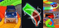 Детская игрушечная дорога - конструктор Magic Tracks 165 деталей, Светящаяся гибкая гоночная  (Мэджик Трек) , фото 1