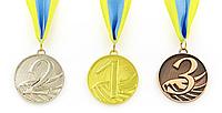 Медаль спортивная в лентой START (1,2,3) (металл, 27g), фото 1