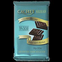 Шоколад CACHET extra dark chocolate 70% 300г Экстра чёрный