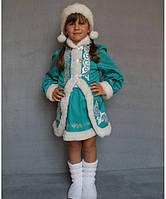 Детский карнавальный костюм для девочки Снегурочка№2