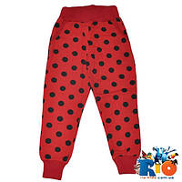 Детские спортивные брюки (зима), трикотаж на флисе, для девочки 9-12 лет (4 ед уп)