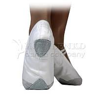 Балетки с кожаным носочком, Kovalenko Dance р. 27,5- р. 41, фото 1