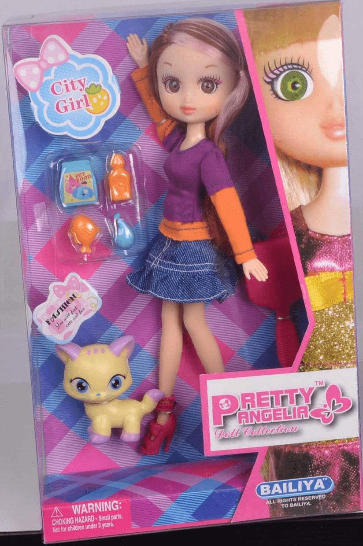 Bailiya: Кукла с кошкой
