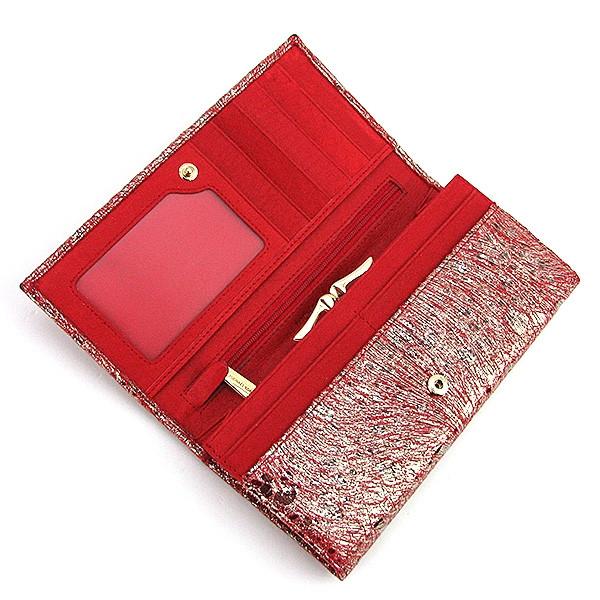 ... Кошелек кожаный женский на кнопке красный Michael Kors 175-01В, ... 71a846c4895