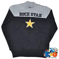 """Детский зимний батник """"Rock Star"""", утеплен флисом, для мальчика ростом 140,152,164,176 см (4 ед в уп)"""