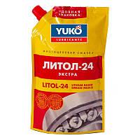 Смазка Литол-24 YUKO 150гр дой-пак с штуцером