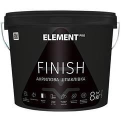 Шпаклевка Element Pro Finish 8кг