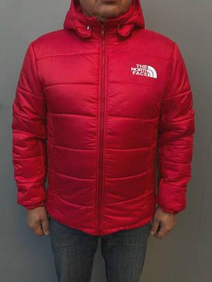 Мужская куртка Nike the north face Red