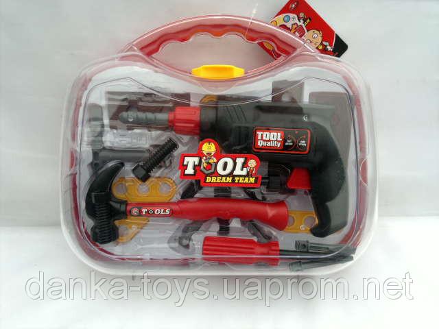 Детский Набор инструментов в чемодане 77000D